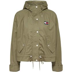 Odjeća Žene  Jakne Tommy Jeans DW0DW08587 Zelena