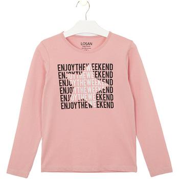 Odjeća Djeca Majice / Polo majice Losan 024-1631AL Ružičasta