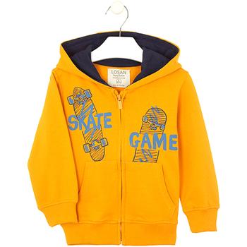 Odjeća Djeca Sportske majice Losan 025-6653AL Žuta boja
