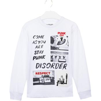 Odjeća Djeca Majice / Polo majice Losan 023-1000AL Bijela