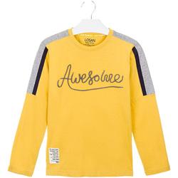 Odjeća Djeca Majice / Polo majice Losan 023-1008AL Žuta boja