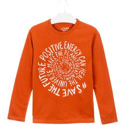 Odjeća Djeca Majice / Polo majice Losan 023-1013AL Naranča