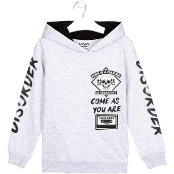 Odjeća Djeca Sportske majice Losan 023-6000AL Siva