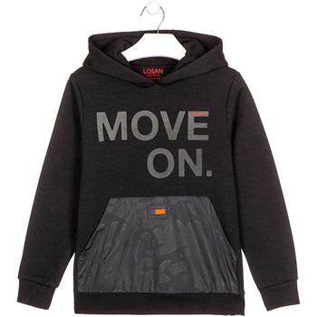Odjeća Djeca Sportske majice Losan 023-6006AL Crno