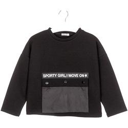 Odjeća Djeca Sportske majice Losan 024-1015AL Crno