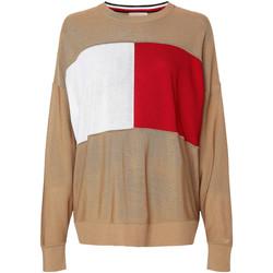 Odjeća Žene  Sportske majice Tommy Hilfiger WW0WW28582 Bež