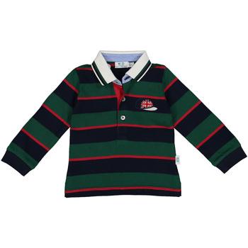 Odjeća Dječak  Polo majice dugih rukava Melby 20C0270 Zelena