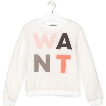 Odjeća Djeca Sportske majice Losan 024-6021AL Bijela