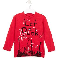 Odjeća Djeca Majice / Polo majice Losan 025-1001AL Crvena