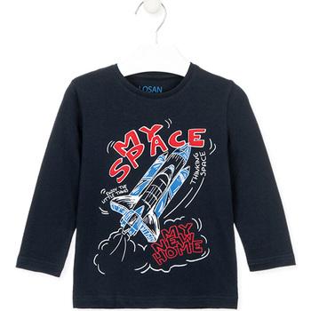Odjeća Djeca Majice / Polo majice Losan 025-1201AL Plava