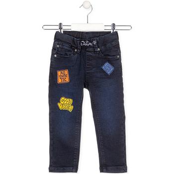 Odjeća Djeca Traperice Losan 025-6037AL Plava