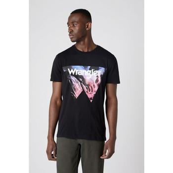 Odjeća Muškarci  Majice / Polo majice Wrangler T-shirt  Cowboy Cool noir