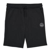 Odjeća Dječak  Bermude i kratke hlače Jack & Jones JJI SHARK JJSWEAT Crna