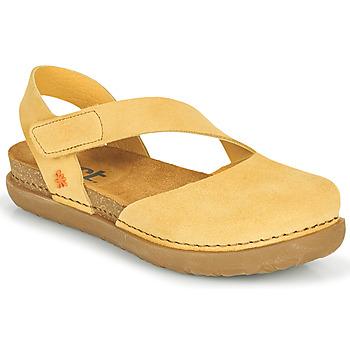 Obuća Žene  Balerinke i Mary Jane cipele Art RHODES Žuta