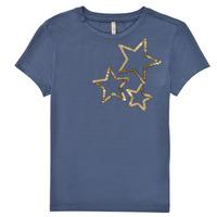 Odjeća Djevojčica Majice kratkih rukava Only KONMOULINS STAR Blue