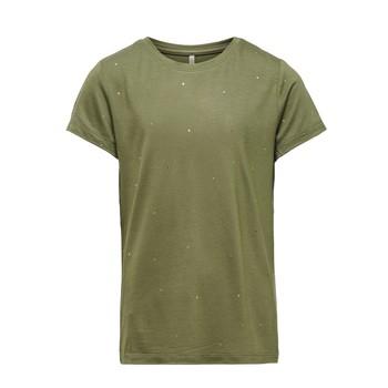 Odjeća Djevojčica Majice kratkih rukava Only KONMOULINS Kaki