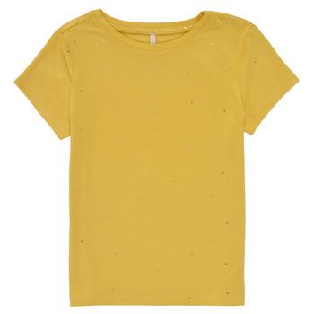 Odjeća Djevojčica Majice kratkih rukava Only KONMOULINS Žuta