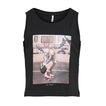 Odjeća Djevojčica Majice s naramenicama i majice bez rukava Only KONLANA Crna