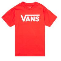 Odjeća Djeca Majice kratkih rukava Vans VANS CLASSIC TEE Red