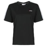 Odjeća Žene  Majice kratkih rukava Fila JAKENA Crna