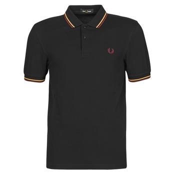 Odjeća Muškarci  Polo majice kratkih rukava Fred Perry TWIN TIPPED FRED PERRY SHIRT Crna