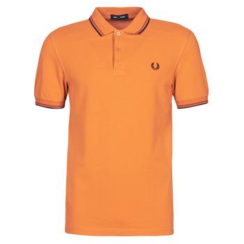 Odjeća Muškarci  Polo majice kratkih rukava Fred Perry TWIN TIPPED FRED PERRY SHIRT Camel