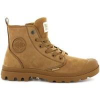 Obuća Žene  Polučizme Palladium Manufacture Boots Pampa HI Zip Smeđa