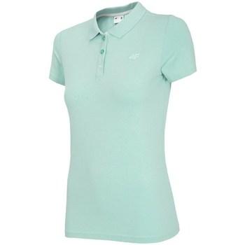 Odjeća Žene  Polo majice kratkih rukava 4F TSD008 Zelena