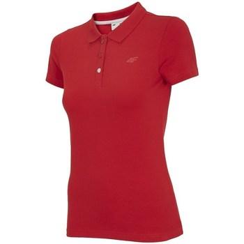 Odjeća Žene  Polo majice kratkih rukava 4F TSD008 Red