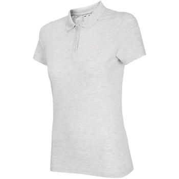 Odjeća Žene  Polo majice kratkih rukava 4F TSD007 Bijela