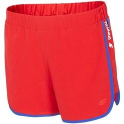 Odjeća Žene  Bermude i kratke hlače 4F SKDF001 Red