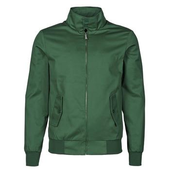 Odjeća Muškarci  Kratke jakne Harrington HARRINGTON PAULO Zelena