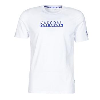 Odjeća Muškarci  Majice kratkih rukava Kaporal DINO Bijela