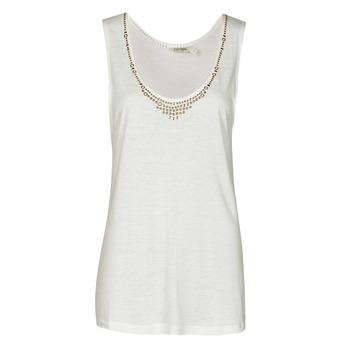 Odjeća Žene  Majice s naramenicama i majice bez rukava Kaporal PAMPI Bijela