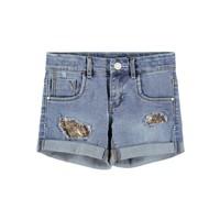 Odjeća Djevojčica Bermude i kratke hlače Name it NKFSALLI Blue
