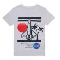 Odjeća Dječak  Majice kratkih rukava Name it NASA Bijela