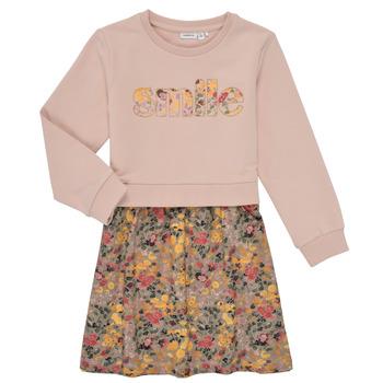 Odjeća Djevojčica Kratke haljine Name it NMFBADA Siva