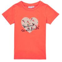 Odjeća Djevojčica Majice kratkih rukava Name it NMFDELFIN TOP Koraljna