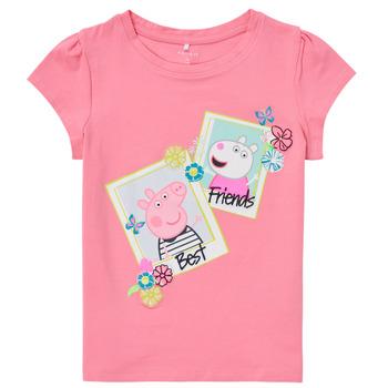 Odjeća Djevojčica Majice kratkih rukava Name it PEPPAPIG Ružičasta