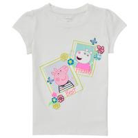 Odjeća Djevojčica Majice kratkih rukava Name it PEPPAPIG Bijela