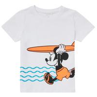 Odjeća Dječak  Majice kratkih rukava Name it NMMMICKEY Bijela
