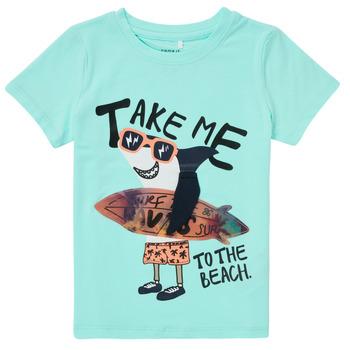 Odjeća Dječak  Majice kratkih rukava Name it NMMFANO Blue