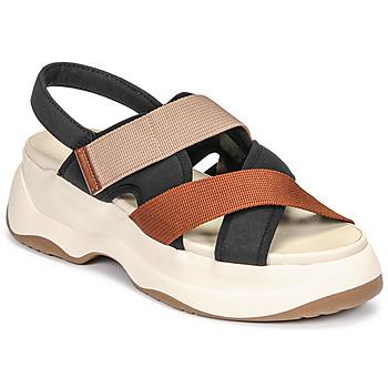 Obuća Žene  Sandale i polusandale Vagabond Shoemakers ESSY Bijela / Boja hrđe / Crna