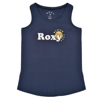 Odjeća Djevojčica Majice s naramenicama i majice bez rukava Roxy THERE IS LIFE FOIL Blue