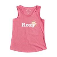 Odjeća Djevojčica Majice s naramenicama i majice bez rukava Roxy THERE IS LIFE FOIL Ružičasta
