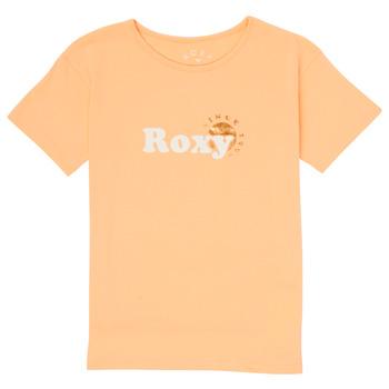 Odjeća Djevojčica Majice kratkih rukava Roxy DAY AND NIGHT FOIL Ružičasta