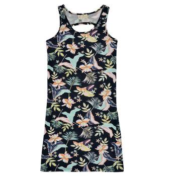 Odjeća Djevojčica Kratke haljine Roxy FLOWER SHADOW DRESS Crna