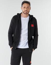 Odjeća Muškarci  Sportske majice HUGO DAPLE Crna