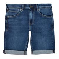 Odjeća Dječak  Bermude i kratke hlače Teddy Smith SCOTTY 3 Blue / Zagasita