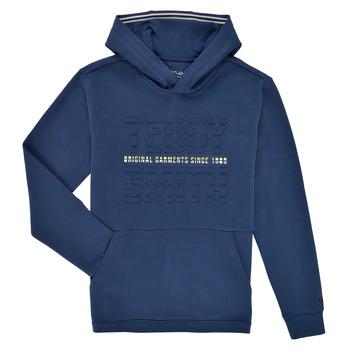 Odjeća Dječak  Sportske majice Teddy Smith S-RUN HOODY Blue